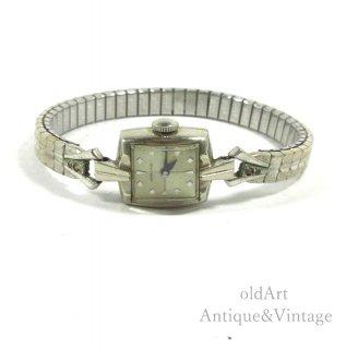 ビンテージ1940-1960'sハミルトンHAMILTON手巻き式レディース腕時計ドレスウォッチアンティークウォッチ腕時計【N-20625】
