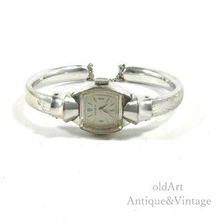 ビンテージ1940-60'sBENRUSベンラス手巻き式レディース腕時計ブレスレットウォッチアンティークウォッチ腕時計10KGF【N-20627】