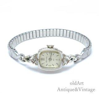 USA製1950年代ヴィンテージブローバBulova手巻き式レディース腕時計ドレスウォッチアンティークウォッチ腕時計【M-15124】