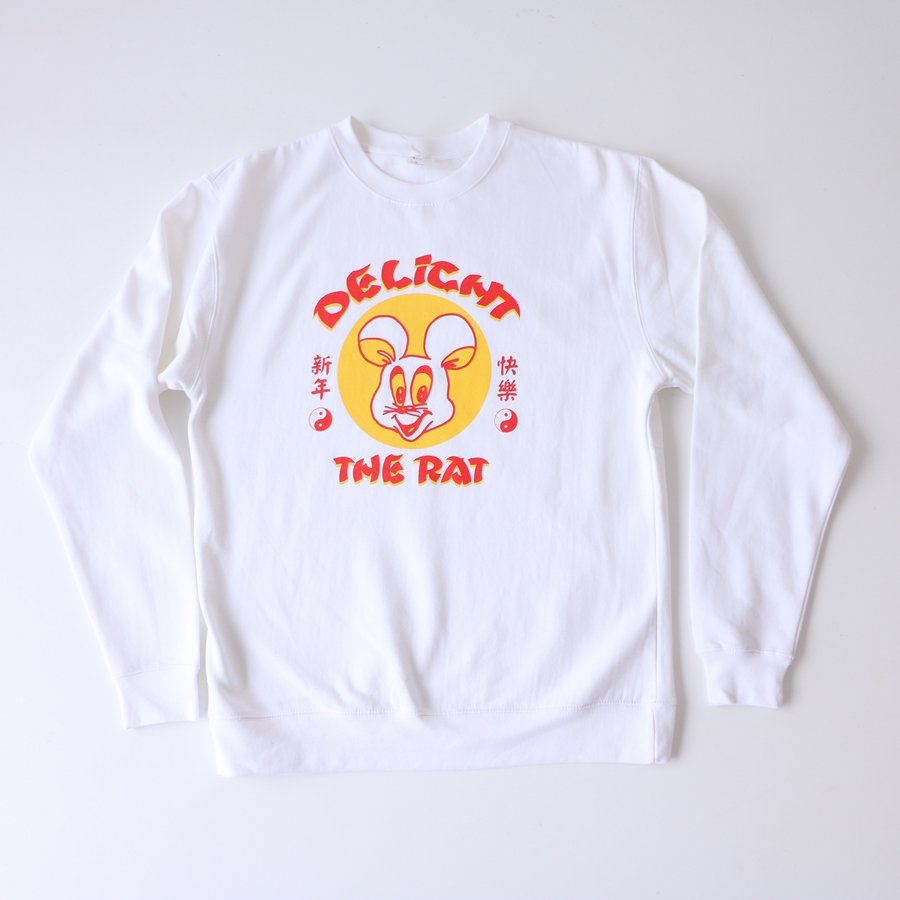 DELIGHT THE RAT sweat shirt