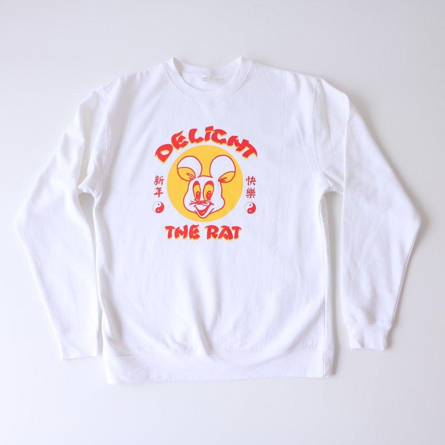 DELIGHT THE RAT sweat shirt