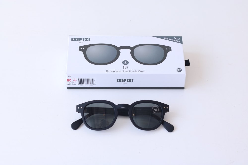 IZIPIZI sunglasses #C BLACK