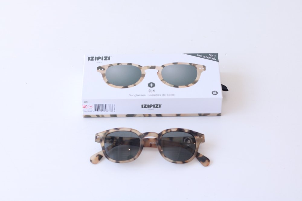 IZIPIZI sunglasses #C LIGHT TORTOISE