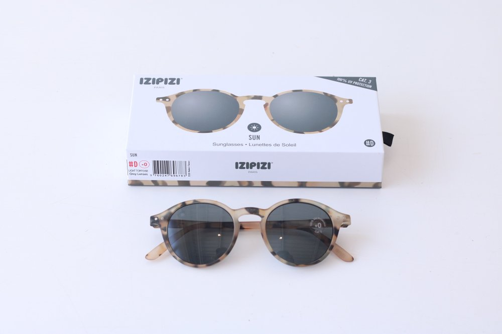 IZIPIZI sunglasses #D LIGHT TORTOISE