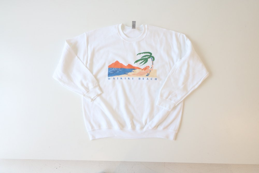WAIKIKI BEACH sweat shirts