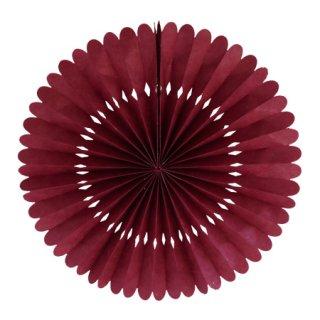 ペーパーファン Large|Burgundy