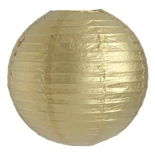 ペーパーランタン・ベーシック ゴールド 30cm