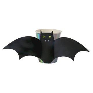 <img class='new_mark_img1' src='https://img.shop-pro.jp/img/new/icons20.gif' style='border:none;display:inline;margin:0px;padding:0px;width:auto;' />【SALE】Meri Meri パーティーカップ 8個入   Halloween Bat Cup