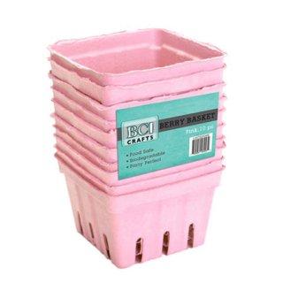 ベリーバスケット 10個入 | ピンク