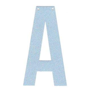 カスタムオーダー・グリッターレターバナー POWDER BLUE