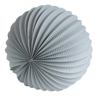 ペーパーアコーディオンボール 30cm |Gray