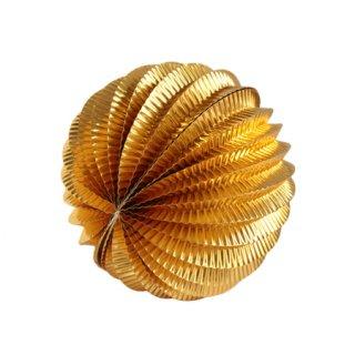ペーパーアコーディオンボール 15cm | Gold