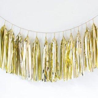 タッセルガーランド Gold Foil