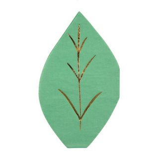 Meri Meri Leaf ペーパーナプキン (16枚入)