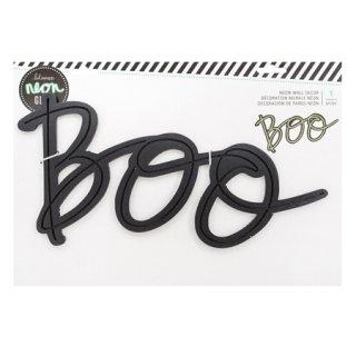 ネオンサイン用 ウォールワード BOO - American Crafts