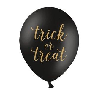 Trick or Treat バルーン ブラック 6個入