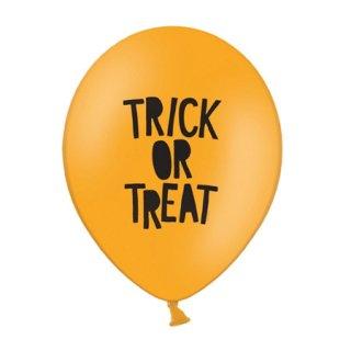 Trick or Treat バルーン オレンジ 6個入