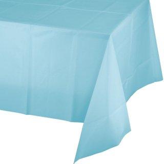 テーブルカバー ライトブルー
