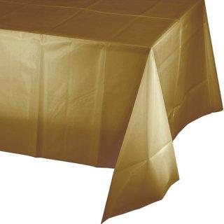 テーブルカバー ゴールド