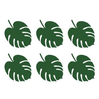 <img class='new_mark_img1' src='https://img.shop-pro.jp/img/new/icons14.gif' style='border:none;display:inline;margin:0px;padding:0px;width:auto;' />ペーパーリーフ Monstera 6枚入