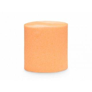 クレープストリーマー  ライトオレンジ 4個入