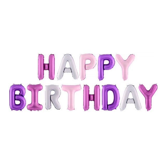 <img class='new_mark_img1' src='https://img.shop-pro.jp/img/new/icons14.gif' style='border:none;display:inline;margin:0px;padding:0px;width:auto;' />HAPPY BIRTHDAY レターバルーンMIXセット