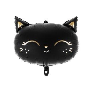 Black Cat バルーン 48x36cm,
