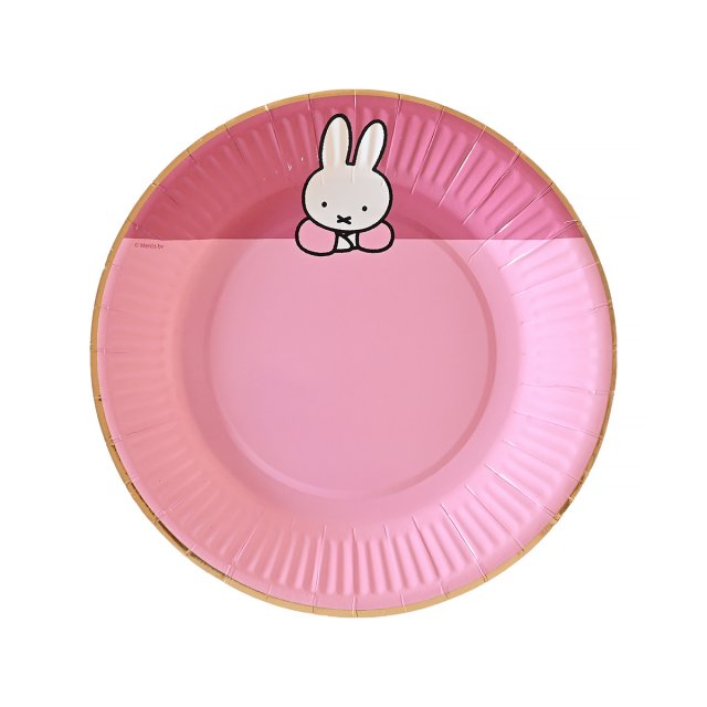 <img class='new_mark_img1' src='https://img.shop-pro.jp/img/new/icons14.gif' style='border:none;display:inline;margin:0px;padding:0px;width:auto;' />MIFFY ペーパープレート 8枚入 PINK