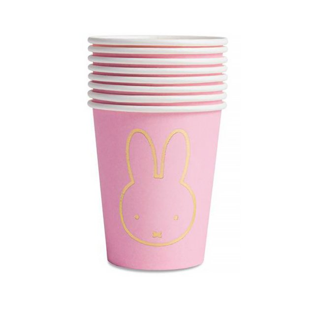 <img class='new_mark_img1' src='https://img.shop-pro.jp/img/new/icons14.gif' style='border:none;display:inline;margin:0px;padding:0px;width:auto;' />MIFFY ペーパーカップ 8個入  PINK