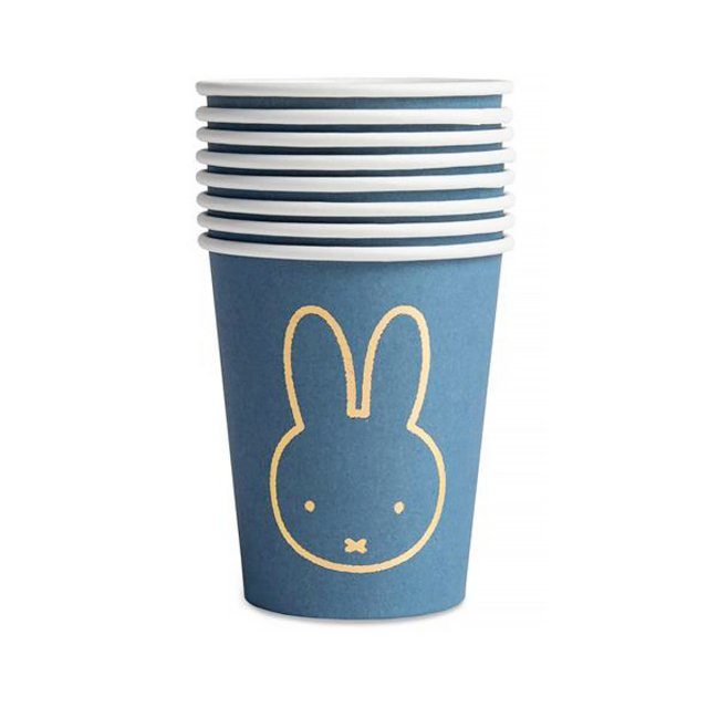 <img class='new_mark_img1' src='https://img.shop-pro.jp/img/new/icons14.gif' style='border:none;display:inline;margin:0px;padding:0px;width:auto;' />MIFFY ペーパーカップ 8個入 BLUE
