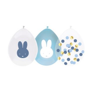 <img class='new_mark_img1' src='https://img.shop-pro.jp/img/new/icons14.gif' style='border:none;display:inline;margin:0px;padding:0px;width:auto;' />MIFFY バルーン コンフェッティMIX 5個入 BLUE