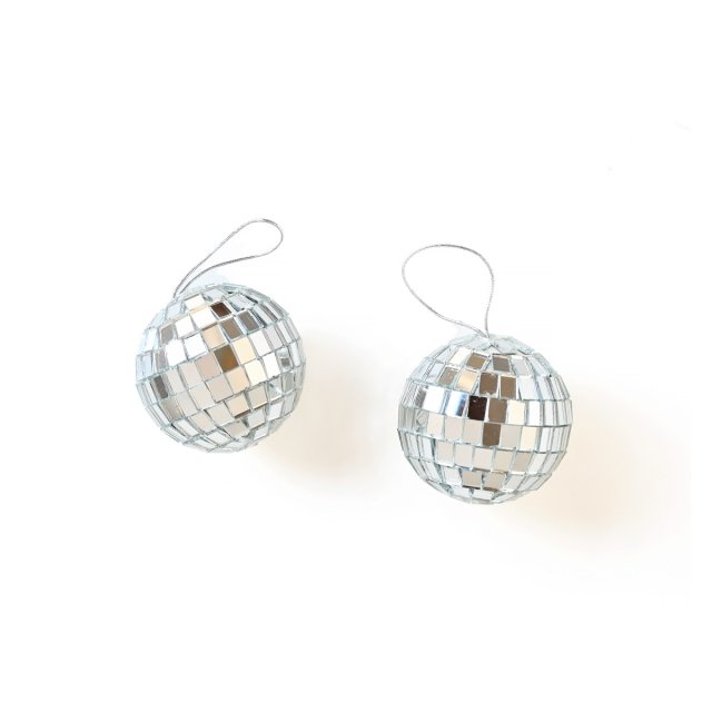 <img class='new_mark_img1' src='https://img.shop-pro.jp/img/new/icons14.gif' style='border:none;display:inline;margin:0px;padding:0px;width:auto;' />DISCO BALL オーナメント 5cm 2個入
