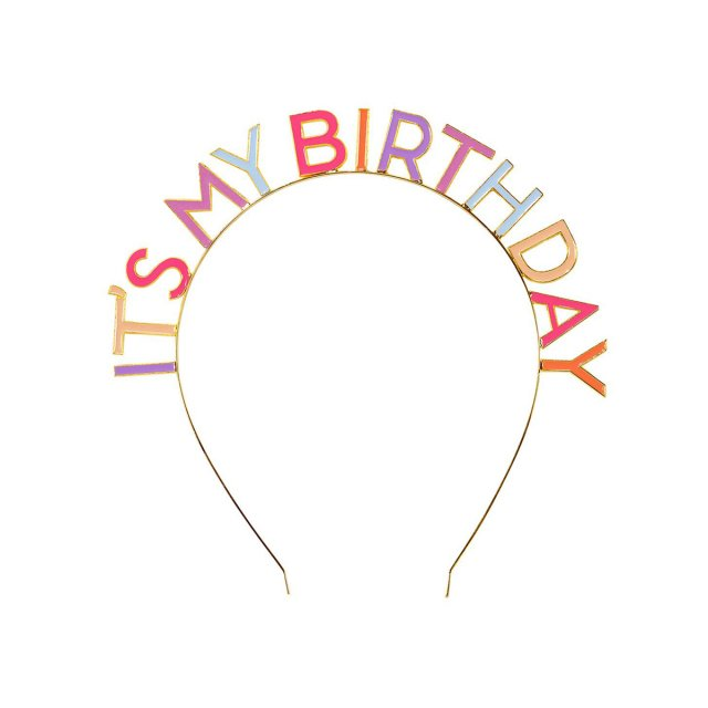 <img class='new_mark_img1' src='https://img.shop-pro.jp/img/new/icons14.gif' style='border:none;display:inline;margin:0px;padding:0px;width:auto;' />Talking Tables  IT'S MY BIRTHDAY ヘッドバンド ROSE
