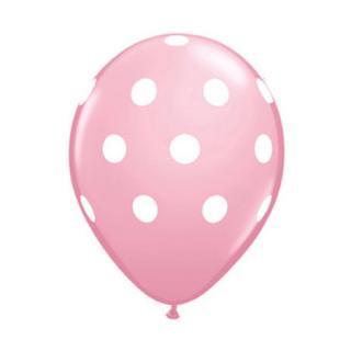 ドットバルーン|ピンク