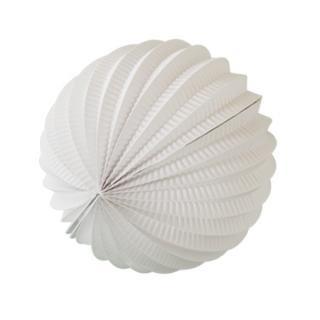 ペーパーアコーディオンボール 20cm | Ivory
