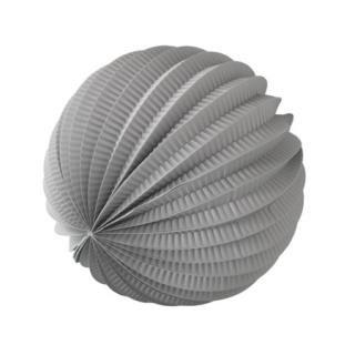 ペーパーアコーディオンボール 20cm | Gray