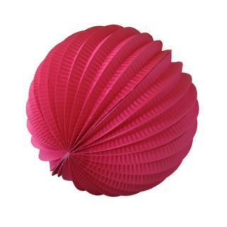 ペーパーアコーディオンボール 20cm | Pink