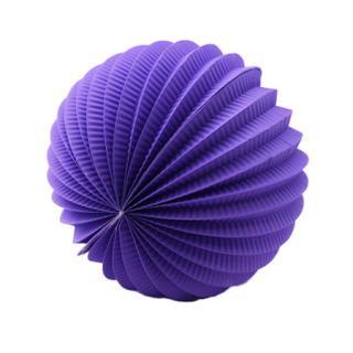 ペーパーアコーディオンボール 20cm | Purple