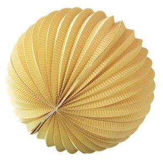 ペーパーアコーディオンボール 30cm | Light Yellow