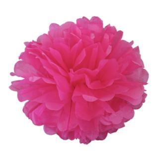 ペーパーポンポン 20cm  Pink