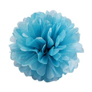 ペーパーポンポン 20cm  Turquoise