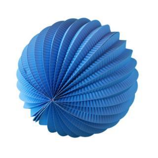 ペーパーアコーディオンボール 20cm | Blue