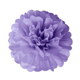 ペーパーポンポン 20cm Lavender