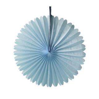 ペーパーファン 33cm|Light Blue