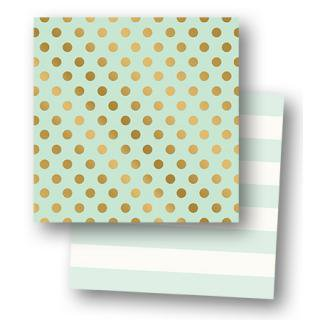 12インチペーパー | Mini Dots Gold Foil Paper MINT