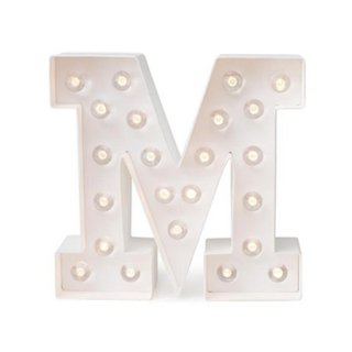 "Marquee Love Letter Kit - ""M"""