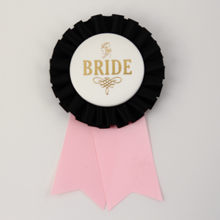 ロゼット BRIDE  Black/Ivory/Light Pink