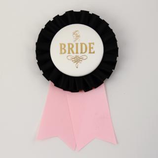 ロゼット BRIDE  Black/Ivory/Light Pink