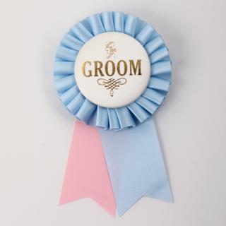 ロゼット GROOM  Light pink/Ivory/Light Blue