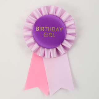 ロゼット BIRTHDAY GIRL Lavender/Purple/Pink